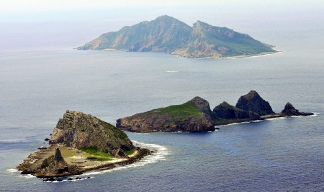 "Part of the disputed Diaoyu Island are now being regarded as part of China's ""core interests"""