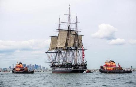 Getting the USS Constitution underway and under sail provided rich material for our 6th most popular article.