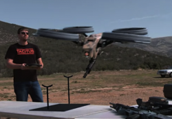 Dual-Use Drone Swarms