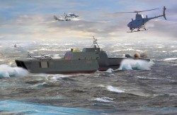 LCS: Screening The Battle Force from Littoral Threats