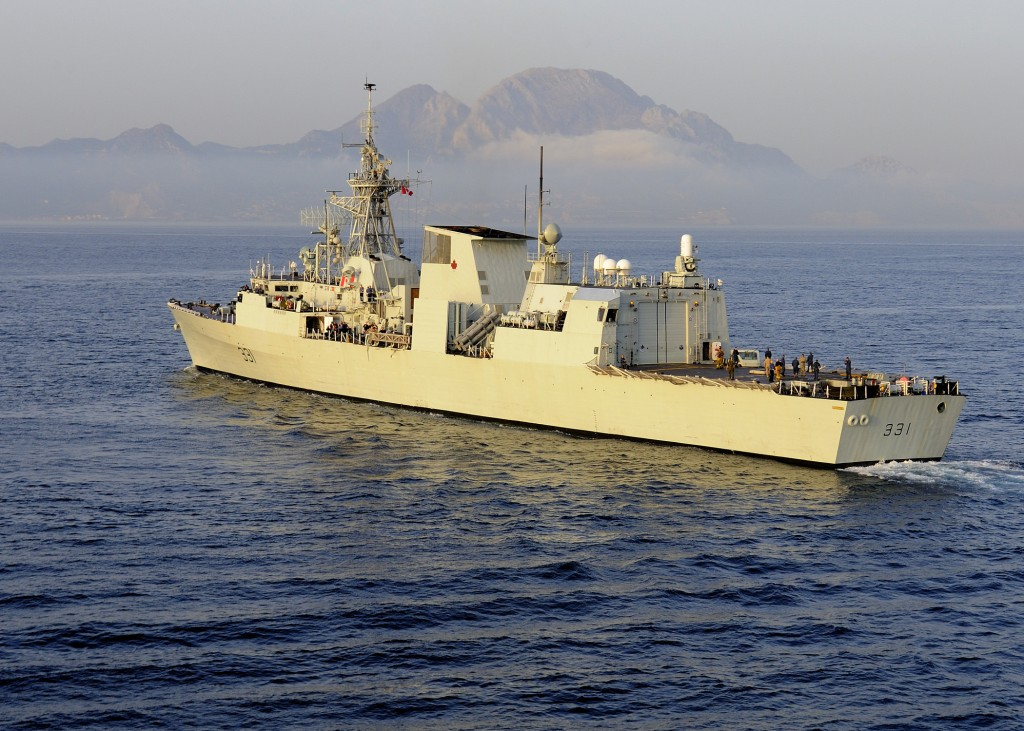 the royal canadian navy in nato