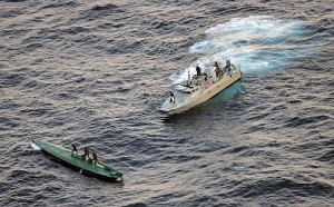 Drug runners prove navies and coast guards don't have a monopoly on maritime forces in South America.