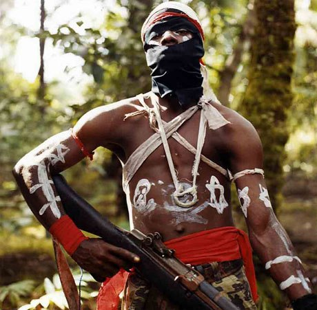 A Movement for the Emapncipation of the Niger Delta (MEND) Fighter