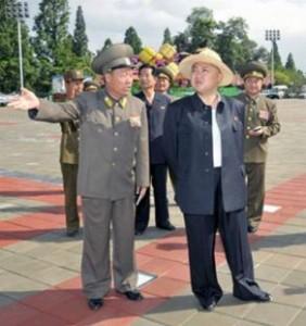 Kimg Jong-Un plots his move as the sweltering environment mocks his national sovereignty.