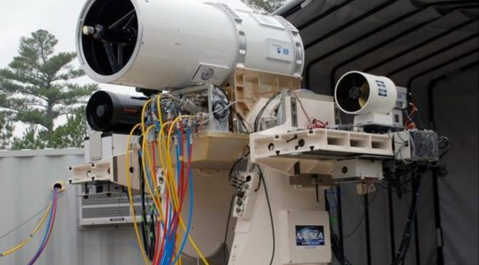 Laser Weapons and Naval Warfare: An Introduction