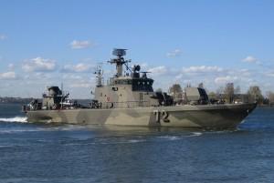 Finnish Rauma-class missile boat FNS Porvoo
