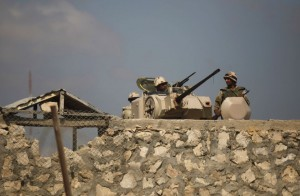 Egyptian security checkpoints and military outposts are now subject to near daily attacks by Sinai militants.