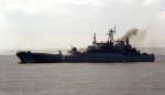 Ropucha Class large landing craft.