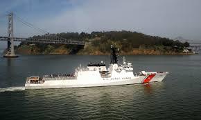 USCGC Waesche by Yerba Buena Island.