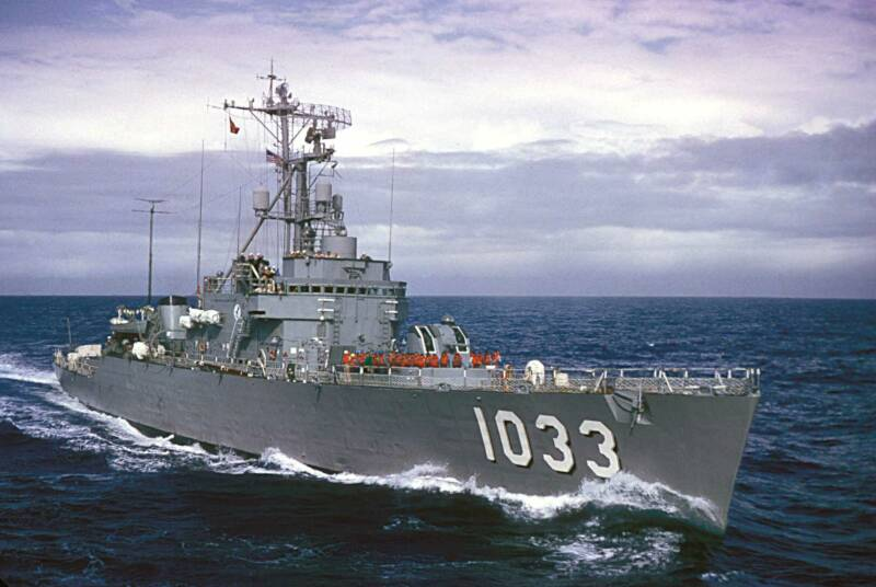 USS Claude Jones (DE-1033)