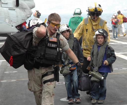 2006 Lebanon NEO during Israel – Hezbollah War, USS Nashville (LPD-13)