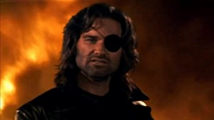 Snake Plissken: A good solution for a 1 person rescue, not a 10,000 person NEO.