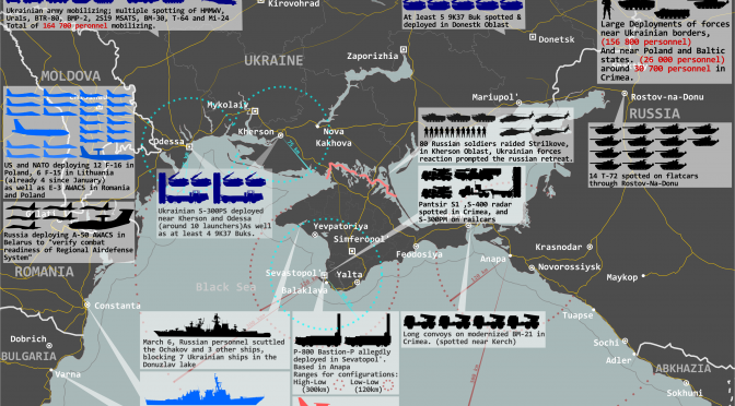 Infographic: The Situation in Ukraine