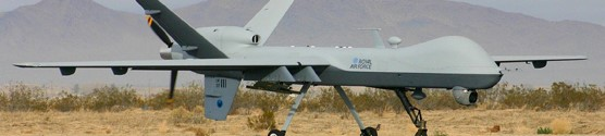 Royal Air Force (UK) MQ-9 Reaper: a great example of the United States' international drone engagement.