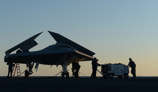 A New Kind of Drone War: UCAV vs UCLASS
