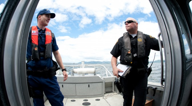 Coast Guard, sheriff's office work hand-in-hand