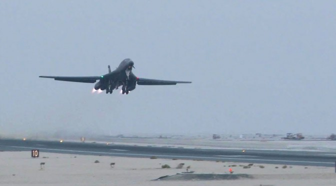 B-1s Continue to Prove Worth Over Iraq