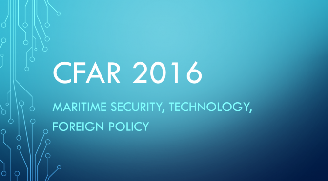 CFAR 2016 – Nominations Now Open