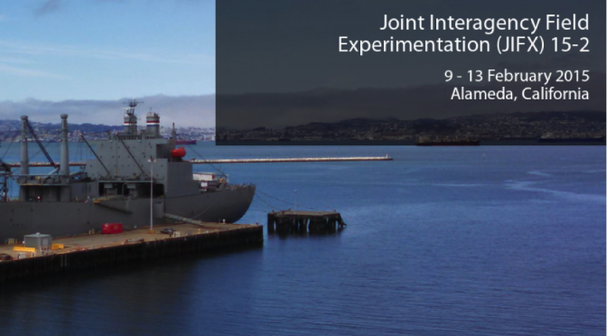 Innovation at the Naval Postgraduate School: JIFX 15-2
