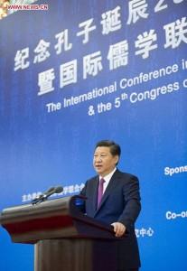 Xi Jinping Confucius