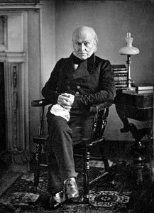 John Quincy Adams. Copy of 1843 Daguerreotype by Philip Haas.