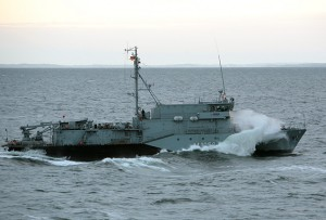 Minehunter FULDA (M 1058), seen here in 2008, and its sister ships may see increased operational relevance now that the Baltic Sea area has once again returned as a maritime focus area with potential for both, cooperation and confrontation (photo: Deutsche Marine)