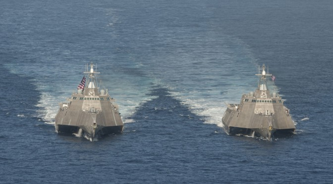 LCS: The Distributed Lethality Flotilla Combatant