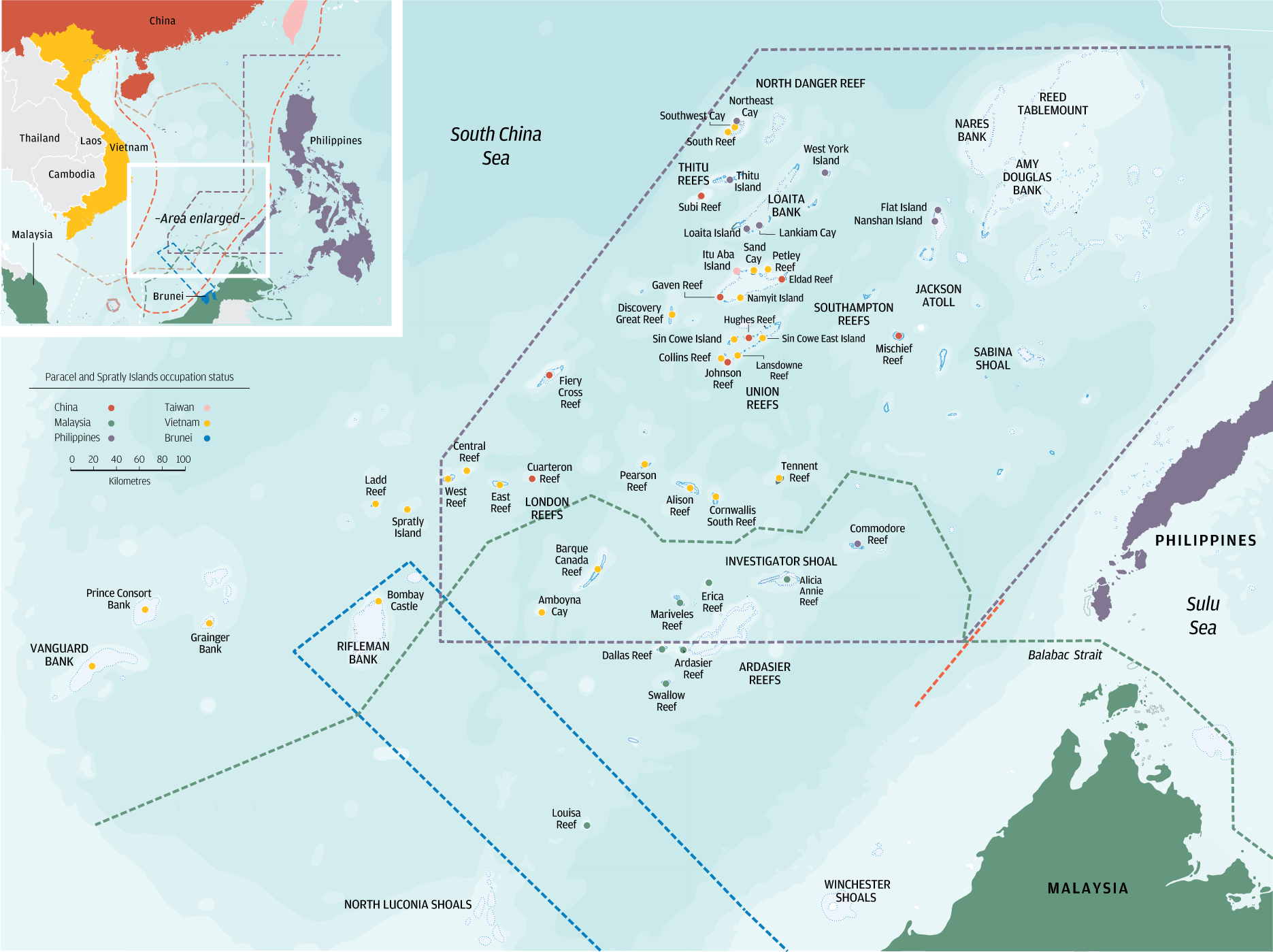 source south china morning post disputed islands in the south china sea