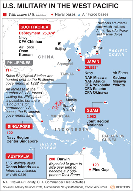 A Look At Us Bases In The Western Pacific 2011