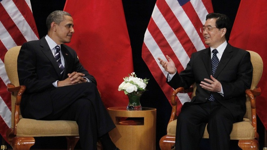President Obama, left, meets with China's President Hu Jintao on the sidelines of the G-20 summit in Seoul, South Korea in November. The Chinese leader comes to Washington this week.