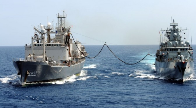 Distributed Endurance: Logistics and Distributed Lethality