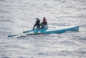 On July 18th, 2015 US Customs and Border Patrol agents along with USN and USCG counterparts seized a semi-submersible carrying 16,870 pounds of cocaine.