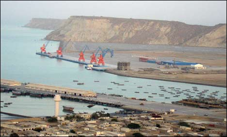 Port in Gwadar, Pakistan.