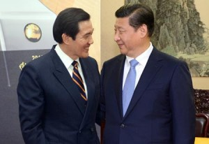 Ma Ying-jeou and Xi Jinping, Xinhua News Photo.