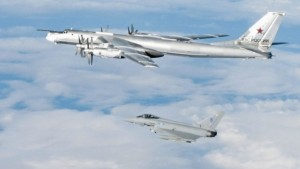 A Russian Tu-45 bomber seen during an interception in 2011. (Source: Crown Copyright, via IHS Jane's 360)