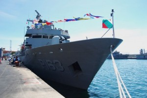 Mexico's ARM Independencia. The vessel participated extensively in this year's TRADEWINDS exercise.