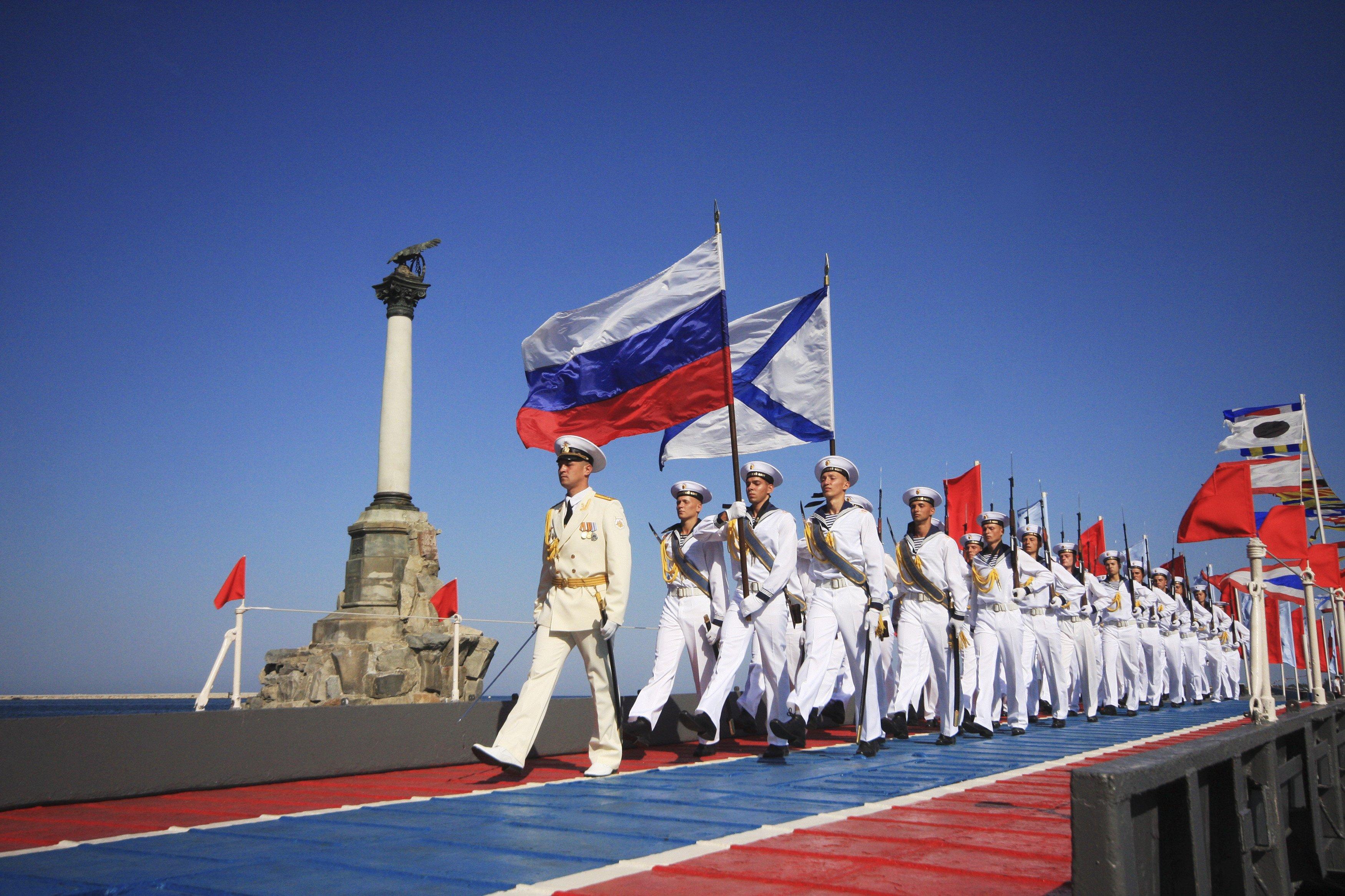 К Дню ВМФ России: Русские, мы русские