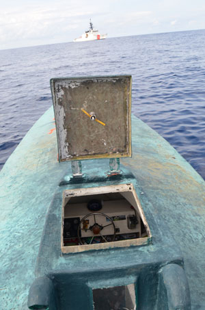 31 August 2015 Seizure of Narco Submarine U.S. Coast Guard Photo