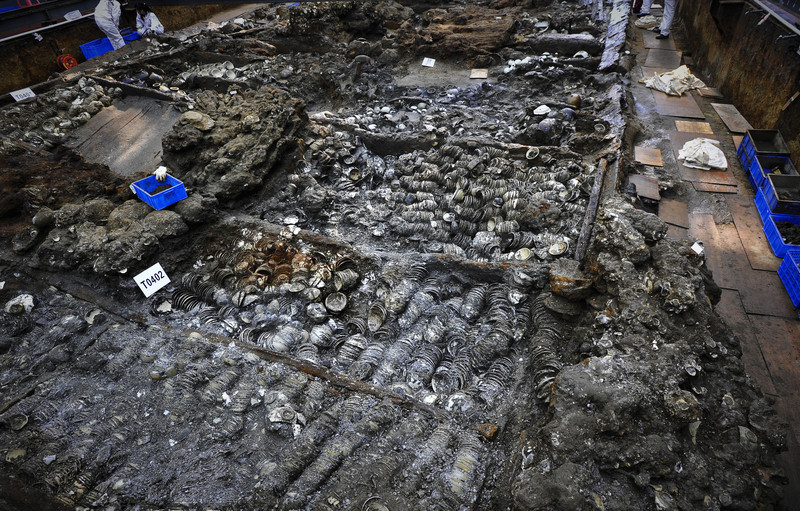 Nanhai1 excavation.