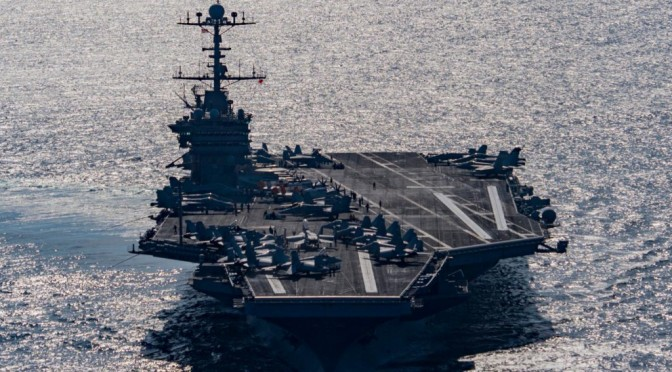 Four Carrier Crises, but yet No Funeral for the Large Flattop