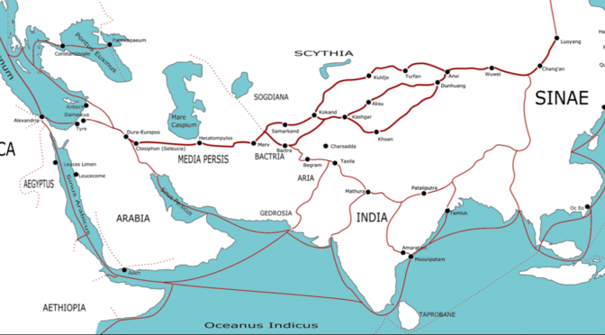 A Comparative View of the Ancient and 21st Century Maritime Silk Roads