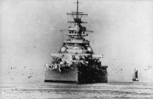 The BISMARCK, a single ship capable of striking fear into the heart of an entire nation.