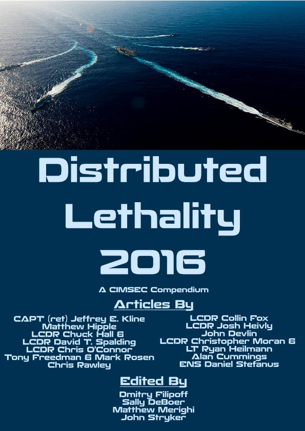 Distributed Lethality 2016 Cover Image