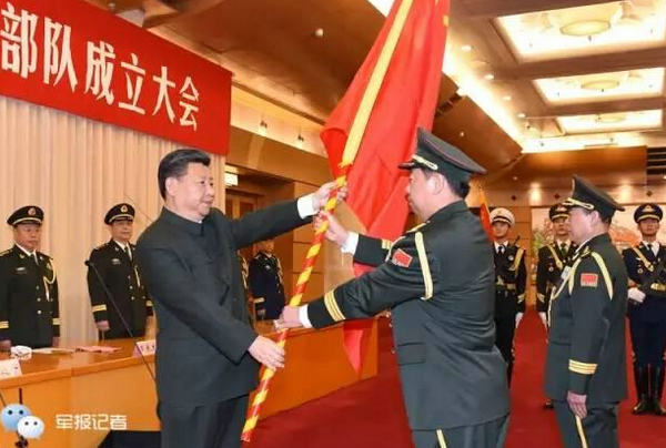 The leadership of the communist party is unchallengeable in the military reform process.