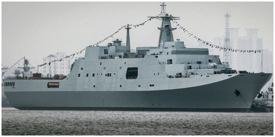 PLA Navy Type 071 LPD.
