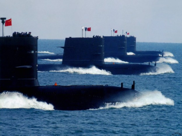 PLA Navy Song class conventional submarines.