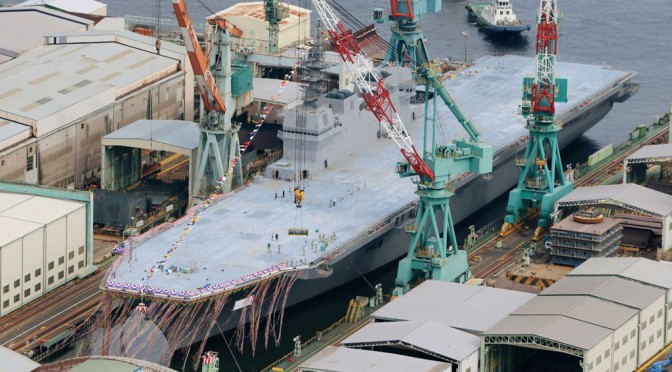 Japan's Izumo-class Helicopter Destroyer: An Aircraft Carrier in Disguise?