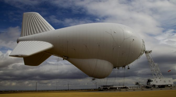 Turbulence for The Philippines: Blimps over the South China Sea