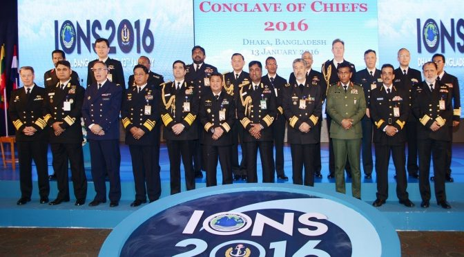 The Criticality of the IONS Maritime Security Construct