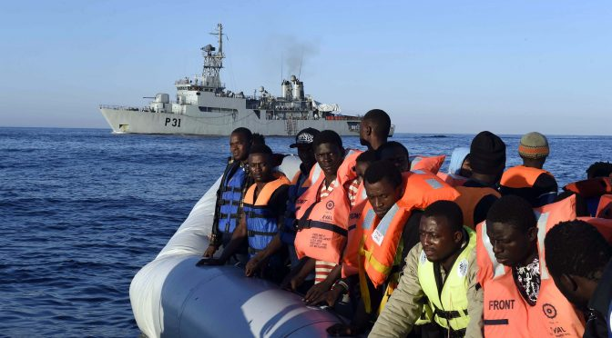 Unsafe Mixed Migration by Sea: The Case of the Mediterranean Region